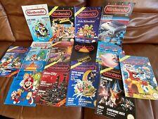 Nintendo Club Magazine 14 Stück SNES NES N64 GB Komplett mit Postern