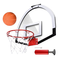 Mini Basketball Hoop System Kids Goal Over The Door Indoor Sports w/ Balls USA