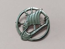 Vintage Shetland Plata Esterlina Iona estilo Celta Broche Pin 1950