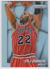 TAJ GIBSON 2014-15 Panini Prizm Basketball Base Prizm Card #132 Bulls
