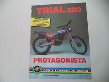 advertising Pubblicità 1985 MOTO GARELLI TRIAL 320