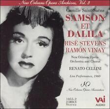 Saint-Saens: Samson et Dalila - Rise Stevens, New Orleans 1960 (2CDs, VAI Audio)