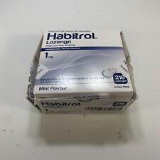 Habitrol Nicotine Lozenge 1mg MINT (216 pieces, 1 box)