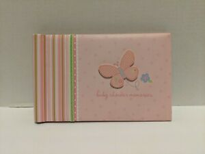 Carter's Pink Baby Shower Memories Book 48 Full Color Fill-In Pages