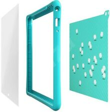 "Lenovo 8"" Tab 4 Plus Kids Pack ShockProof Bumper Case/Stickers/Blue Light Filter"