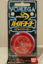 Yomega Stealth Fire Performance Yoyo 1998 Rare Collectible BNIP Red/Red