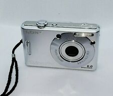 Sony Cybershot dsc-w30 Digital Point and Shoot camera Silver *GOOD/TESTED*