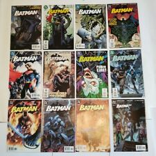 Batman #608 - 619 (DC Comics) HUSH Complete Set Run Jim Lee