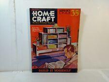 Popular Home Craft Magazine September October 1934 Build It Yourself eb2936