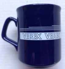 1980s VEREX CORPORATION MORTGAGE INSURANCE COMPANY COFFEE MUG, VINTAGE