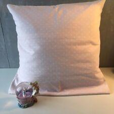 "SALE! Pink Polkadot 16"" x 16"" Square Cushion Cover"