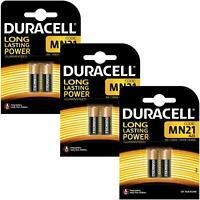 6 x Duracell MN21 A23 12V Alkaline Battery Single-Use 23A LRV08 23A V23GA 8LR932