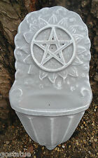 MOLD Poly plastic pentagram fountain/ water dish/ bird feeder mold