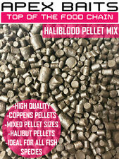 High Quality Mixed Halibut Pellets - 2mm, 4mm ,6mm & 8mm -Carp Fishing