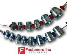 Fastener Screw Bolt Nut Thread Measure Gauge Size Checker Large Inch Amp Metric