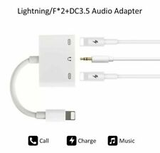 3 in 1 Adaptor Earphone Charger Lightning to 3.5mm Headphone