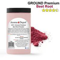 1 Lb Beet Root Powder Beta vulgaris with a High Nitrate Non- GMO RAW JAR