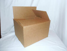 "25 Boxes 10 x 8 x 6"" PACKING SHIPPING CORRUGATED BOXES 200 lb. Test"