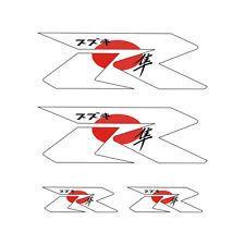 Kit 4 Stickers plastifiés R ZERO GSXR GSR Hayabusa Suzuki