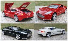 NEW Aston Martin ONE-77 1:32 Super Car Sound Light Model Toys X1PC & Gift