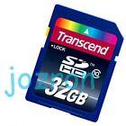 Transcend 32GB 32G SD SDHC Flash Card Memory Class 10