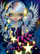 ART PRINT - Angel of Starlight by Jasmine Becket-Griffith 14x11 Gothic Poster