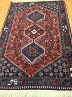 "3'8"" x 5'6"" New Turkish Oriental Rug - Hand Made - 100% Wool"