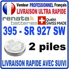 Pile 395 SR927SW AG7 1.55V RENATA Pile bouton QUALITÉ PREMIUM MADE IN SWISS