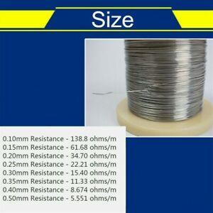 10 Metre Resistance Wire Nichrome Nickel Chrome Heating Element Hot Foam Cut SPW