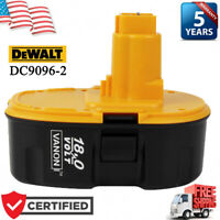 DC9096-2 For DeWalt DC9096 High Capacity 18V XRP Battery DC825 DC759 DC970 Drill