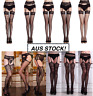 High Stretchy Garter Belt Lace Top Thigh-Highs Stockings Legging Socks FAST POST