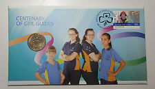 Australia 2010 Centenary of Girl Guides  $1 Coin PNC FDC Cover