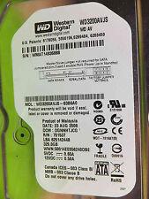 Western Digital 320 GB WD 3200 AAJB - 00j3a0 DCM: dgnnhtjcg | 23aug2008 | disco rigido