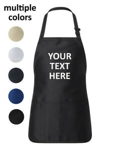 Personalized Kitchen Apron Unisex Chef Cook Cooking Custom Gift Fathers Day