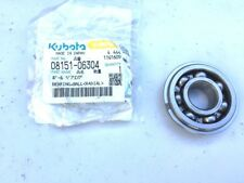 NEW Kubota Bearing,ball(radial) 08151-06304 OEM  FREE SHIPPING