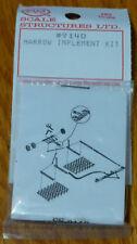 SS Ltd. HO #9140 Harrow Implement kit (Cast Metal)