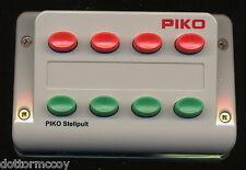 PIKO 55262 Pulsantiera fino a n°4 Scambio deviatoio segnale semaforo H0 1:87