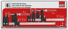 BESSEY Clutch Clamp Set 4-Piece Wood Working Projects Durable Secure Clamps New