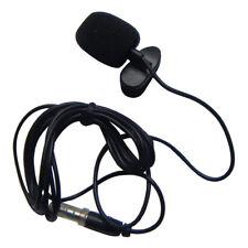 3.5mm Jack Stereo Mini Lapel Tie Clip Mic Condenser Microphone 4 iPhone iPad PC