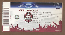 Orig.Ticket  Champions League  08/09   CFR 1907 CLUJ - CHELSEA FC  !!  TOP