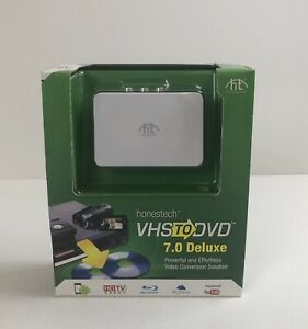 Honestech VHS to DVD/BLU-RAY- 7.0 Deluxe- Video Conversion Solution USB Windows