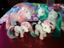 My Little Pony G1 - Sweet Celebrations Family Mummy, Daddy, Brother & Sister