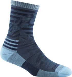 USA DARN TOUGH 1985 Denim Hiker Micro Crew Lightweight Womens Socks S M L Wool
