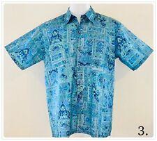 Mens Thai Silk Patterned Shirts/Casual Paisley Retro Hawaiian ~ 13 Patterns