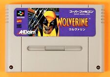 WOLVERINE Marvel Comics Nintendo Super Famicom SNES Japanese FREE Shipping USED