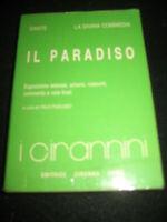 LIBRO: IL PARADISO- LA DIVINA COMMEDIA- DANTE --EDITICE CIRANNA ROMA--**