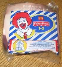 2001 Fisher Price McDonalds Happy Meal Under 3 Toy - Pig in Barn