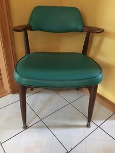 Vintage/Retro PAOLI CHAIR CO.1962 Rare Style ARMCHAIR Signed-#'d ORIGINAL Green