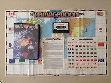 Sinclair ZX Spectrum-L' uomo Armageddon DA MARTECH CON CARTINA E ADESIVI