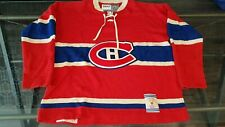 Vintage Montreal Canadiens CCM Sweater Jersey Size XXL NHL